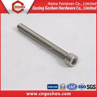 DIN912 Stainless Steel Full thread Allen Socket Bolt