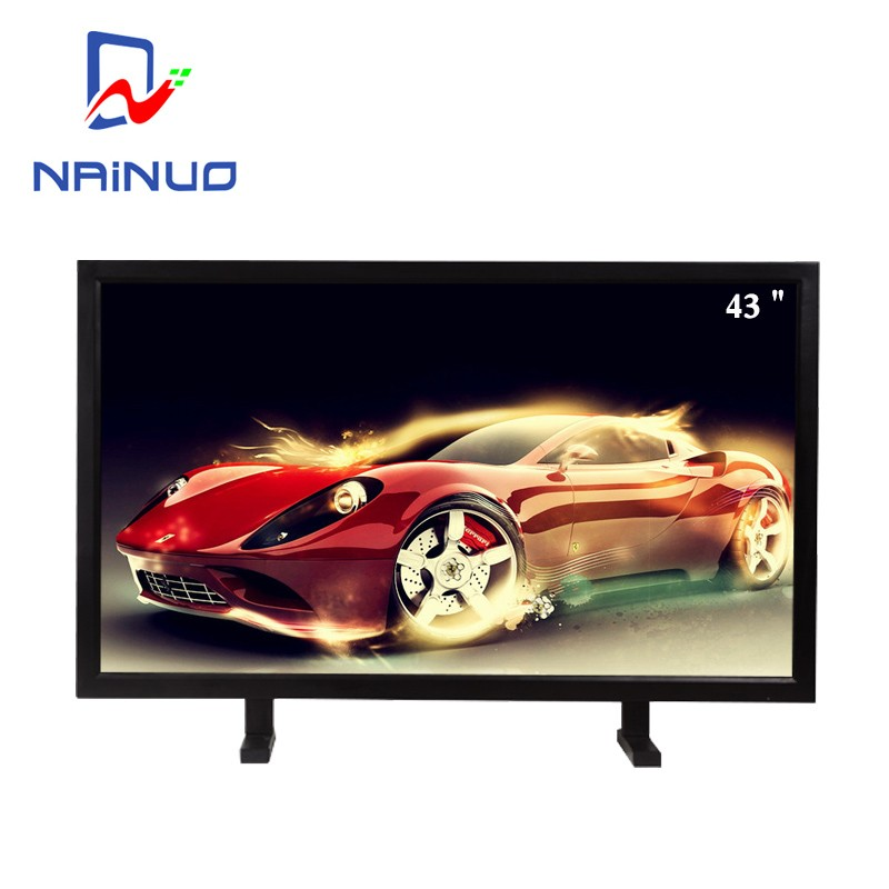 43 inch LED / LCD CCTV monitor cctv security monitors