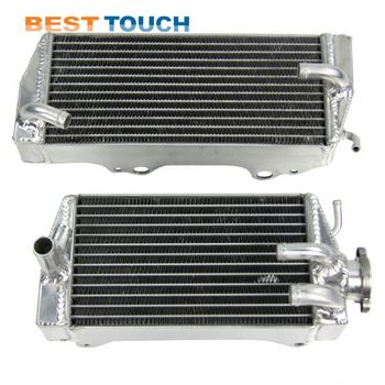 "OEM Aluminum ""GSXR 600 750 dirt bike radiator cooler for SUZUKI"
