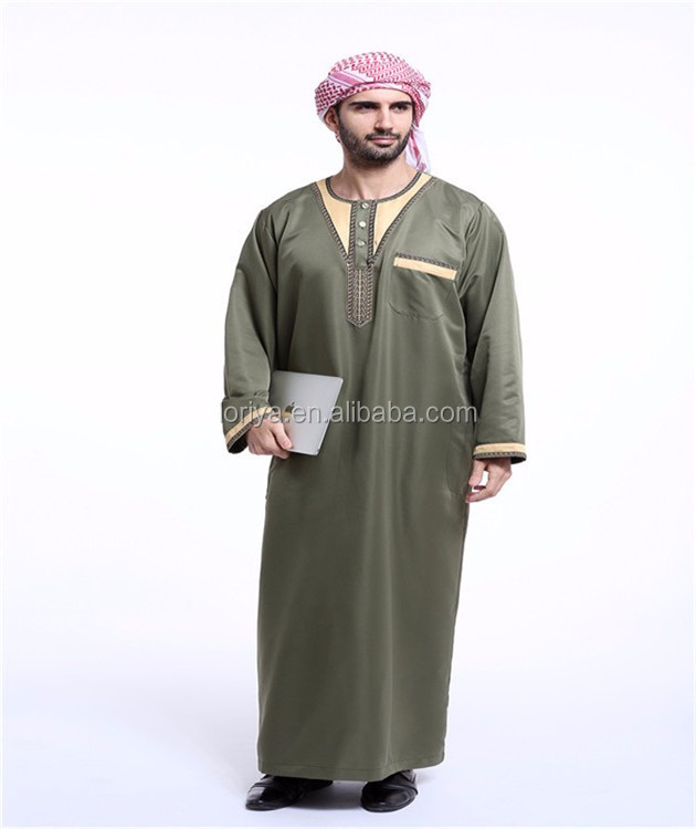 Saudi style digital printing jubah singapore for wholesale hot sale in Turkey