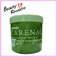 HG8011 300ml strong hold styling hair gel with glitter the force stereotypia fixature men and women's hard