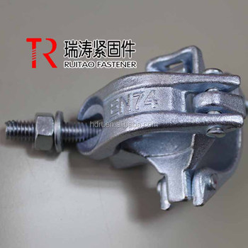 Galvanized BS1139/EN74 Scaffolding Drop Forged Right Angle Clamp