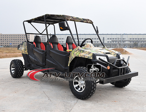 Euro 300cc 4 Seat UTV with doors 2019 New promotion quad utv
