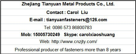 China hardware fastener self drilling screw & self tapping screw producer