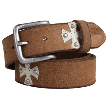 Brown Toughness Original Full Grain Leather Belt Factory From China