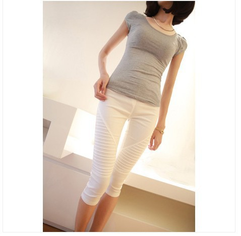 84a888bf9dc19 Get Quotations · 1708 pregnant women wild casual pants Slim was thin pant  leggings pregnant women care belly pants