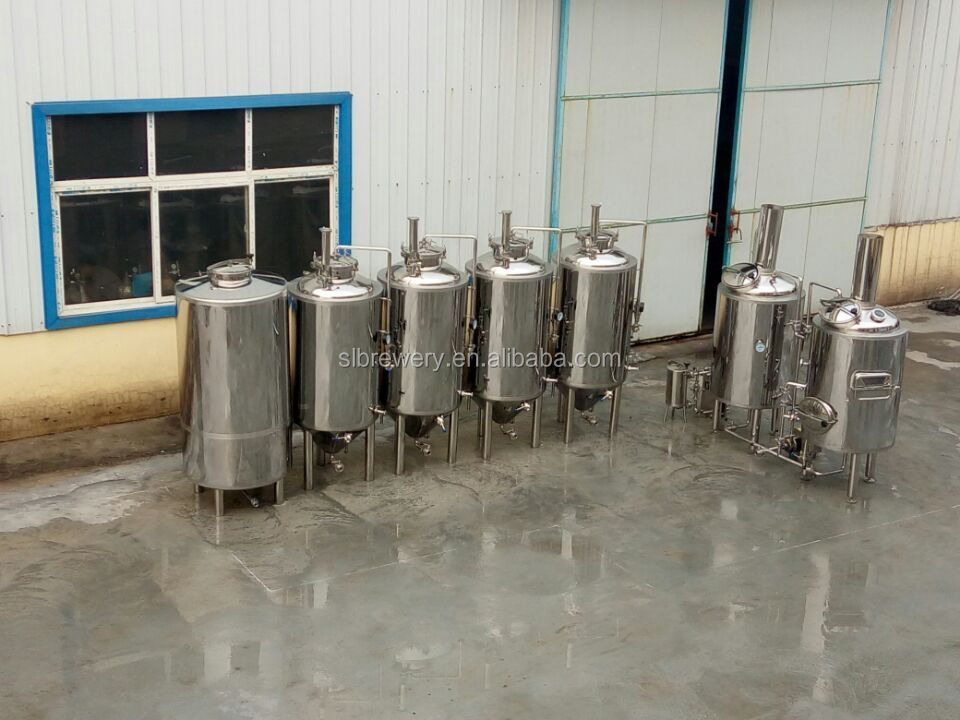 Draft beer brewing system 200l beer equipment