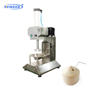 NEWEEK automatic green tender young coconut skin trimming machine
