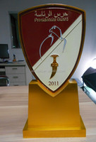 High Quality Gold Presidential Guard Metal Trophy