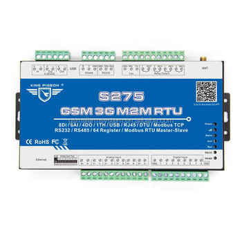 Sms,Csd,Gprs,Udp And Tcp/ip Protocols Gprs Gsm Rtu Telemetry Logging Engine  S275 - Buy Gprs Gsm Sms Sim900,Tcp/ip Gsm Modem,Gprs Modem With Tcp/ip