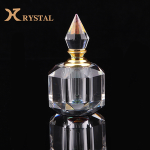 Professional Design Polished Small Luxury Crystal Vintage Perfume Bottles