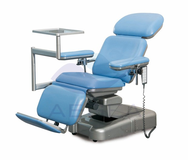 AG-XD107 used hospital color optional adjustable reclining phlebotomy chair
