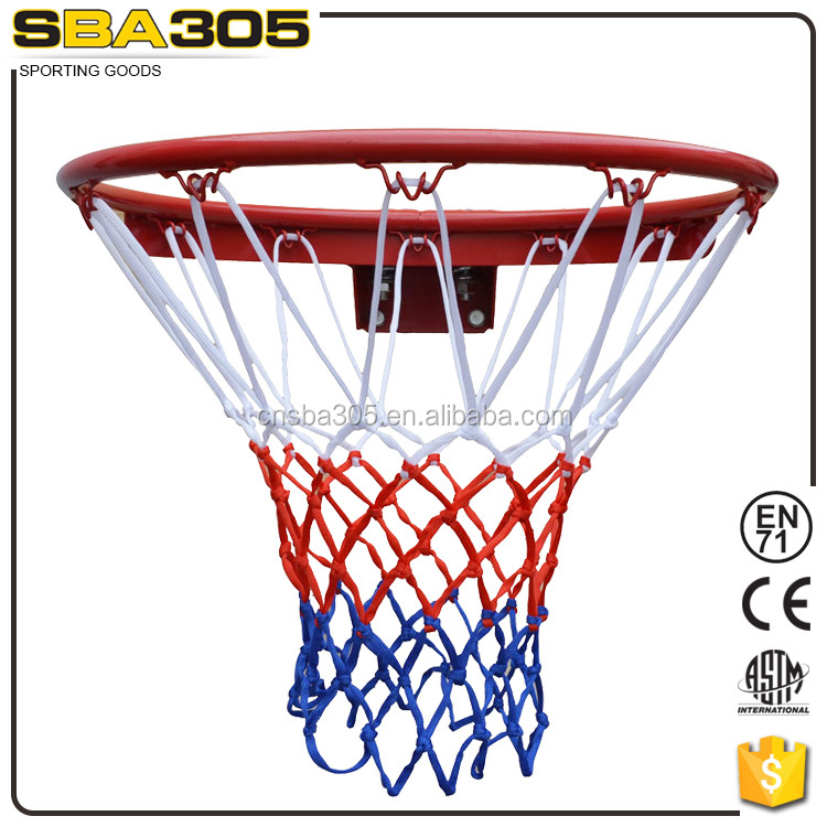 official size steel basketball ring sba