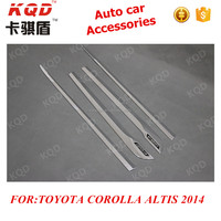 Auto Accessories Toyota Corolla Altis 2014 Abs Plastic 4pcs Body ...