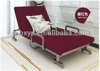 Bed In Woonkamer : Stof cover opvouwbare slaapbank liggende bank bed voor woonkamer