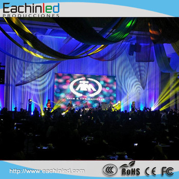 Concert stage decoration indoor p6 p5 led screen price for Indoor stage decoration