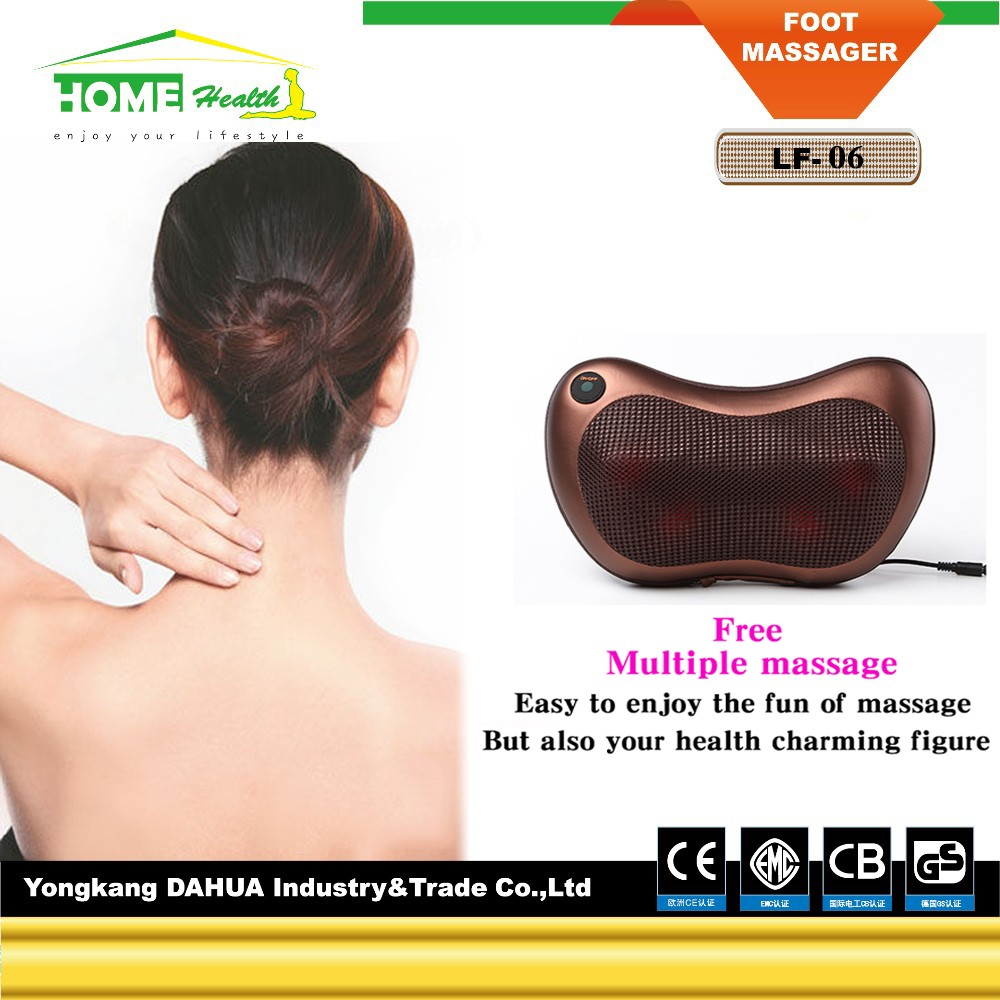 NeckRest Shoulder Massage, Kneading Neck Massage Pillow For Car Or Home
