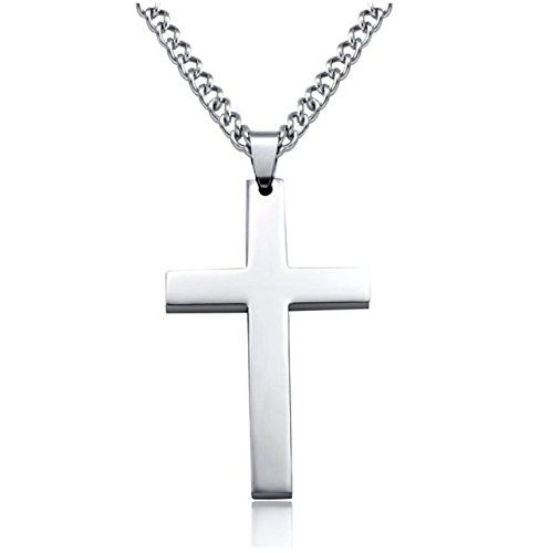 Custom stainless steel titanium cross <strong>pendant</strong>