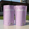 matte packaging bag translucent plastic zipper bag for mobile phone case factory price