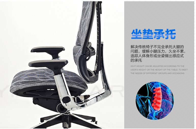 B06A# 2016 New Best Quality Full Mesh Ergonomic Office Chair