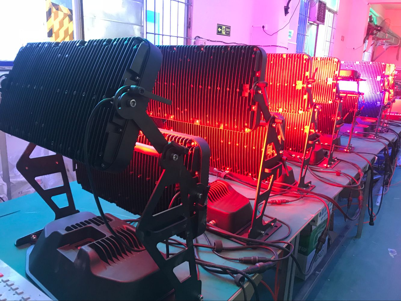 Wall Washer Light 120*12w 4in1 RGBW Led City Light For Stage Event