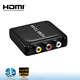 mini plastic mini hdmi 2 av converter 1080p