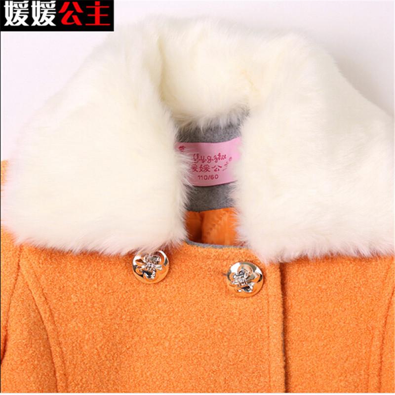 5 - 14 т подросток девушки новинка Soild с длинным рукавом детская осень зима и пиджаки для девочек манто Fille шерсть и смеси