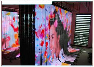 hot p7.625/p10/20/18.75/31.75 advertising video flexible backdrop stage led screen led panel 640 x 640 curved stage curtain