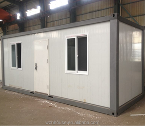 Flat Pack Container House as Prefabricated Building with ISO Certification