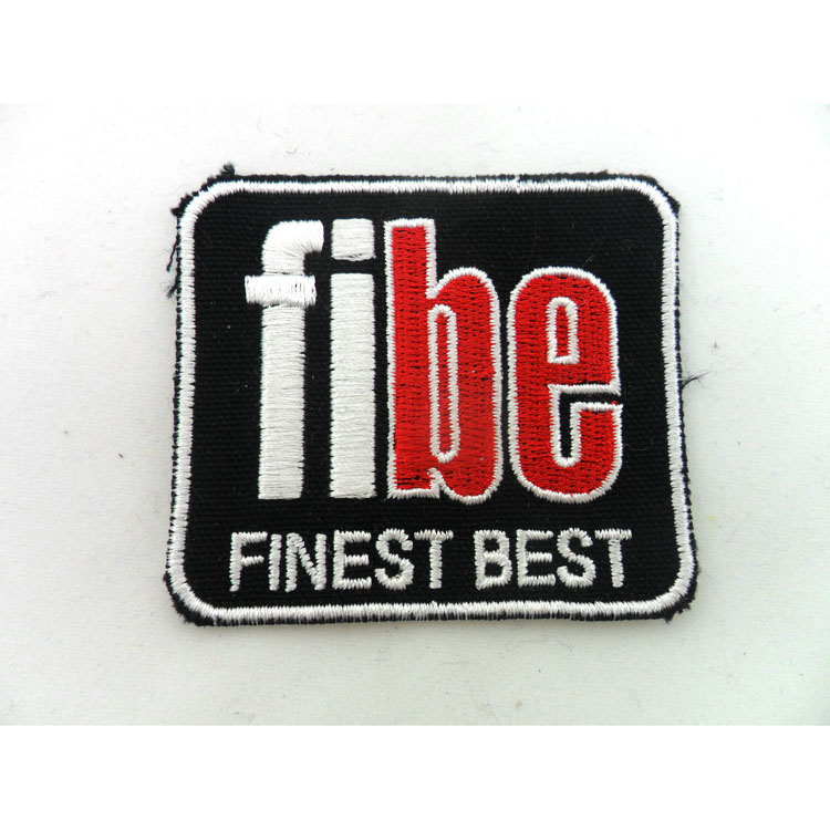 3D embroidery patch custom fashion design embroidery patch