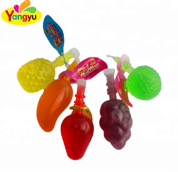 Halal Sweets Various Fruit Shaped Jelly