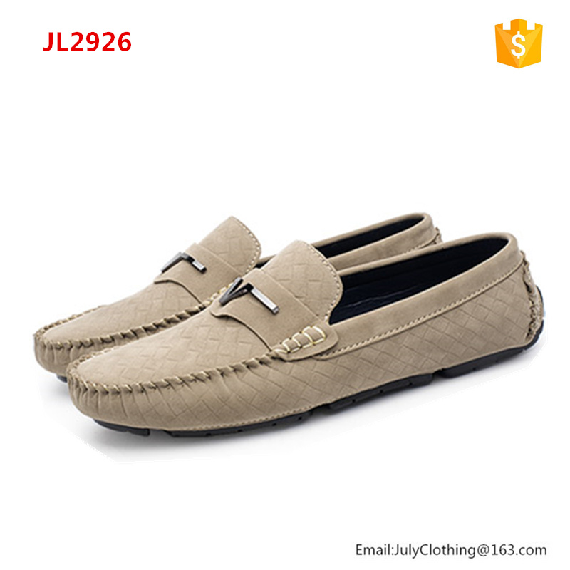 2017 High quality Spring Antumn Comfortable Beige loafer Men Casaul Shoes