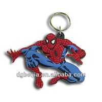 2012 best selling keychain made of soft pvc for promotion gifts BJ-01M