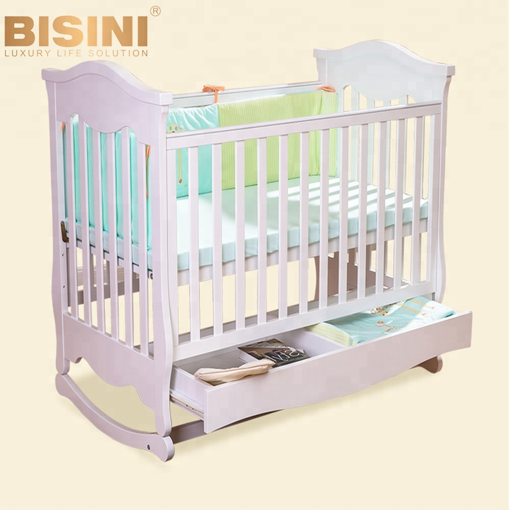 Bisini Modern Style Wooden Baby Crib,New Born Baby Crib,Baby Bedroom  Furniture (bf07-70083) - Buy Baby Crib,Wooden Baby Crib,Child Furniture  Product ...