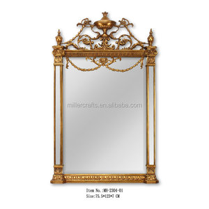 Latest design Rococo Decorative wall mirror MH-2304-01