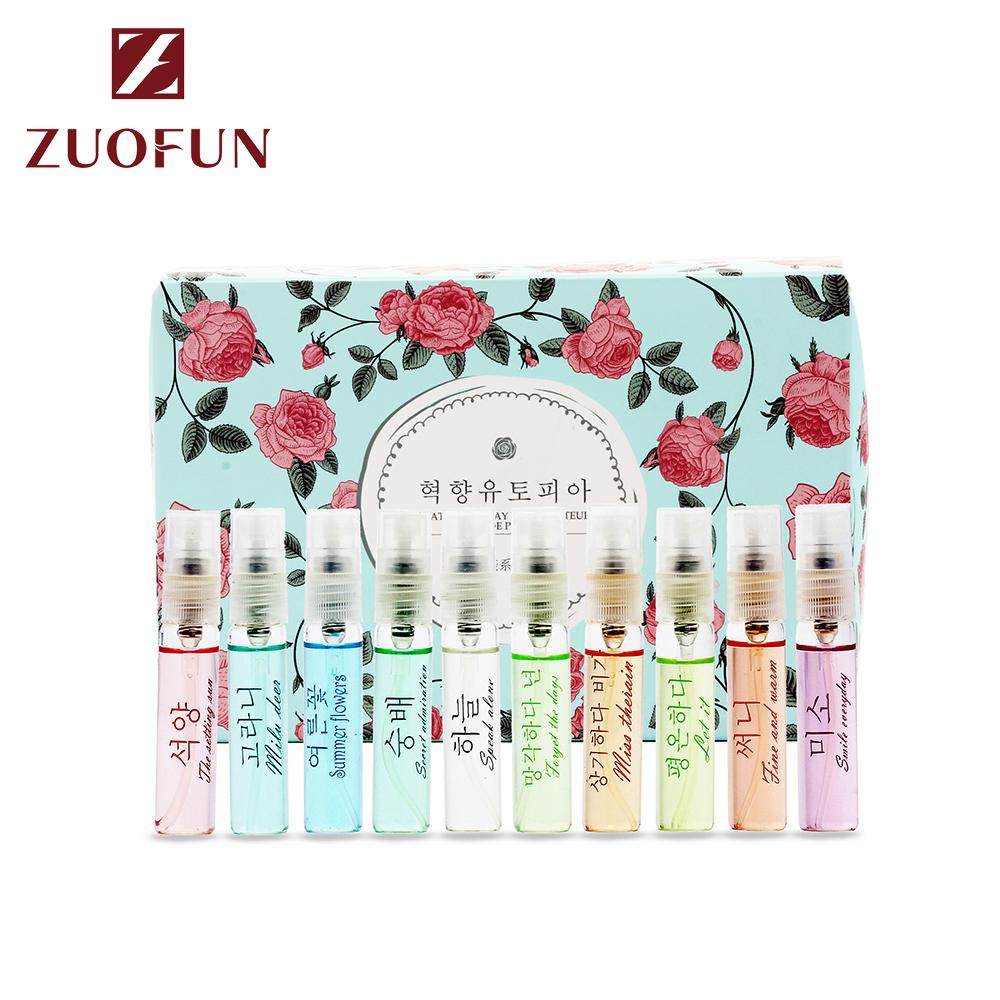 Carlotta 5ml*10  custom perfume Spray form tester with cards vial high quality brand  perfume set