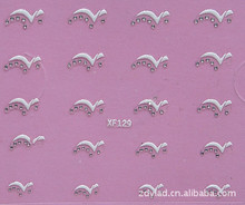 3D design Water Transfer Nails Art Sticker decals lady women manicure tools Nail Wraps Decals wholesale