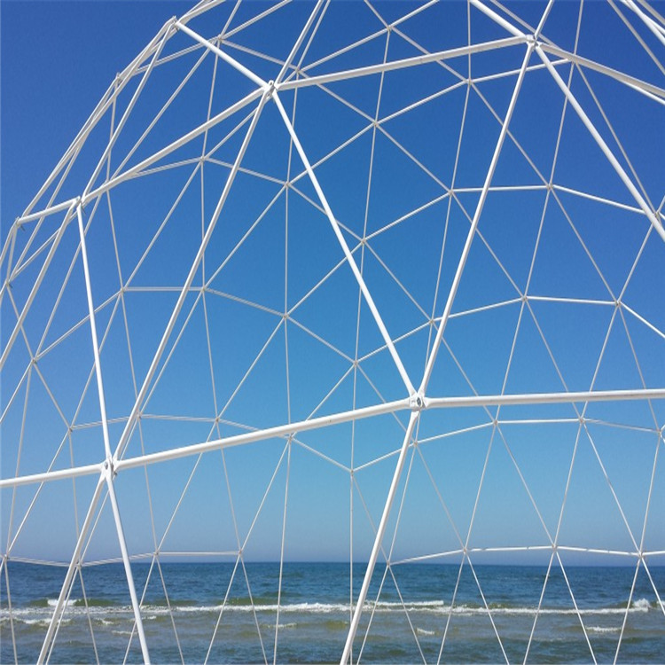 Newly designed customized steel frame structures event glass dome