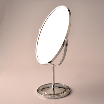 Bon Free Standing Mirror Double Side Table Mirror Desktop Mirror   Buy Double  Side Table Mirror,Metal Stand Table Mirror,Stand Up Table Mirrors Product  On ...