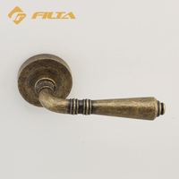 Design construction hardware Doors & Windows Accessories brushed bronze door handles