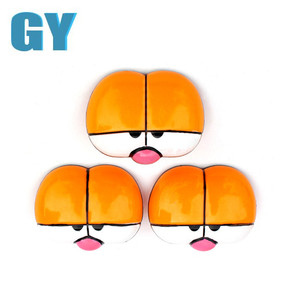 cute plastic toy accessories for garfield paired cartoon toy eyes
