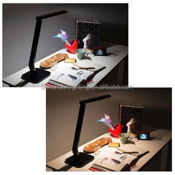 Best-selling Modern Original Smart Touch LED Desk Lamp with USB port,Auto Timer,4 Color Temperature Modes,5 Levels Dimming