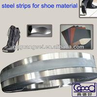 tempered steel shank for safty shoe