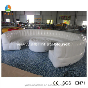 white outdoor inflatable sofa sofa furniture air filled. Black Bedroom Furniture Sets. Home Design Ideas