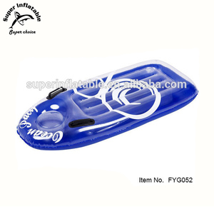 Transparent Bottom surf rider bodyboard Inflatable beach float