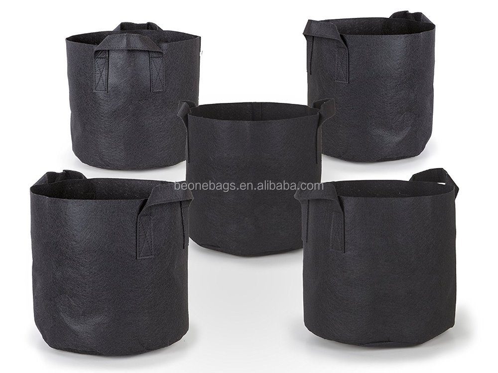 100% Eco Friendly 7 Gallon Grow Bags Aeration Fabric Pots