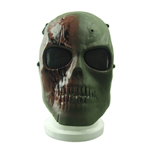 best whole full skull paintball face mask
