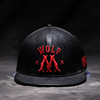 High Quality PU leather Sport hat Embroidery Custom Snapback Wholesale