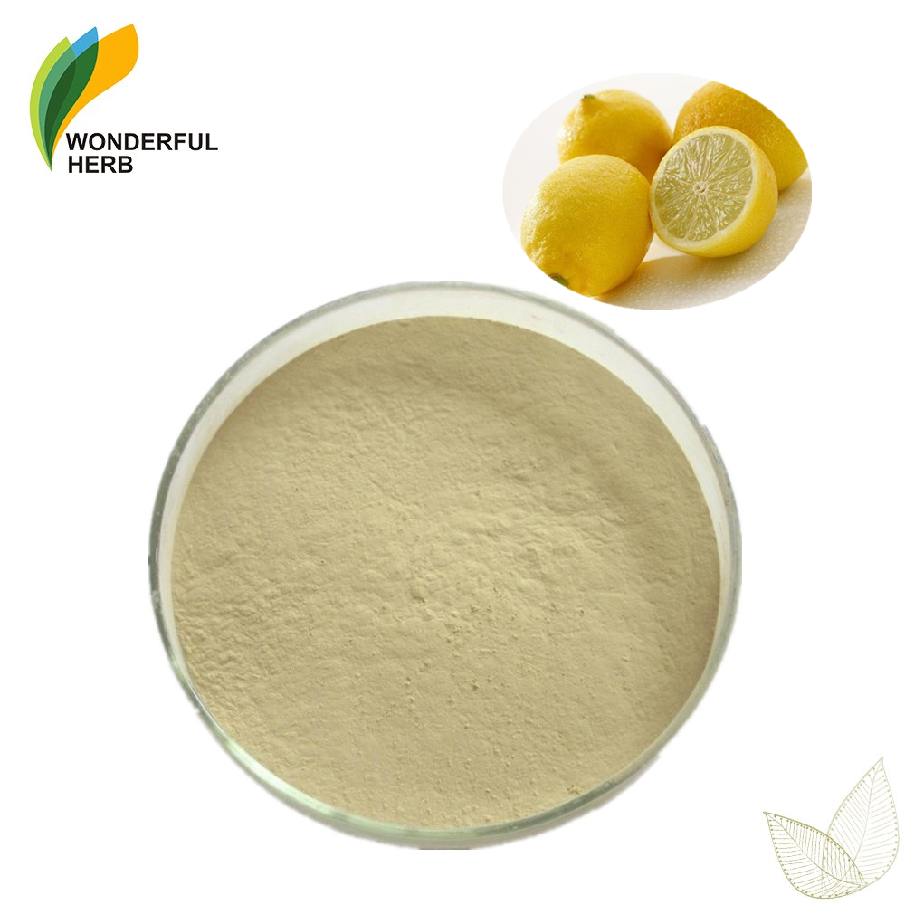 Low price of lemon fruit peel flavor tea extract dried Lime Juice Powder
