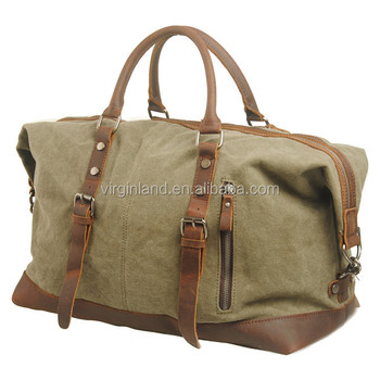 684ca1957ebd 861 XL Stylish Large Thick Canvas Leather Duffel Travel Bags Long Term for  Men